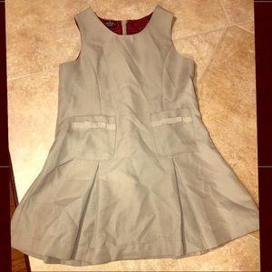 Khaki colored school uniform dress, size 5T